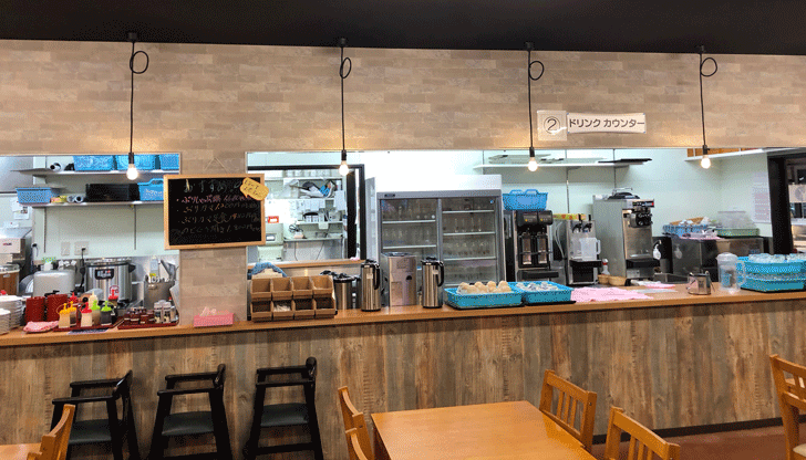 富山駅直近の定食屋!さかな屋富山湾食堂「撰鮮」のドリンクカウンター
