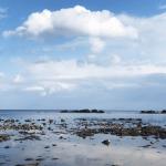 高岡の観光スポット雨晴海岸の女岩への生き方と駐車場