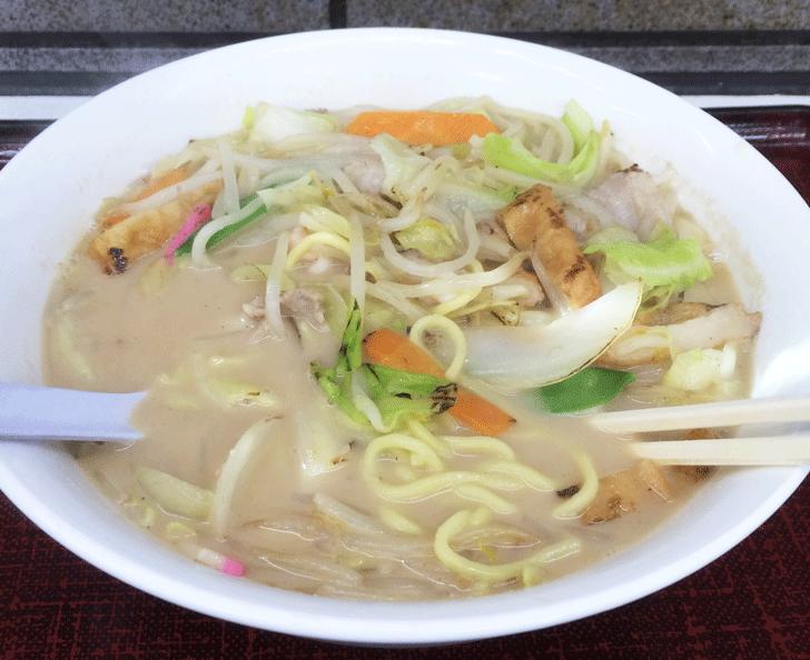 ラーメン工房(射水市)のチャンポン麺