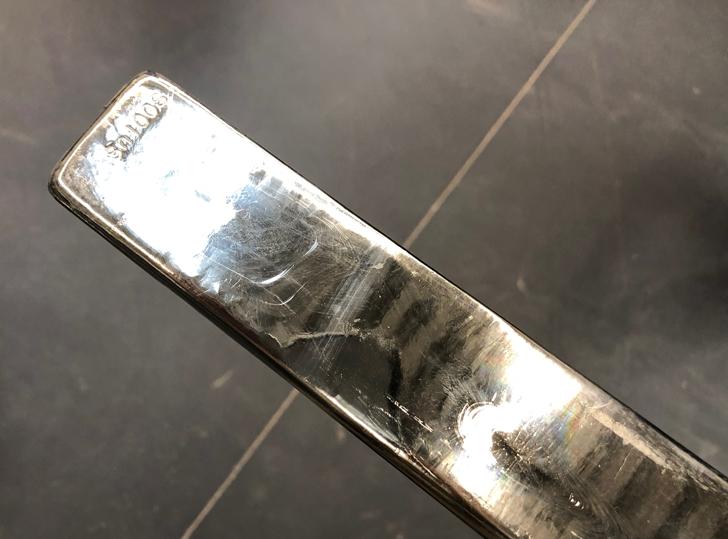 錫ののべ棒