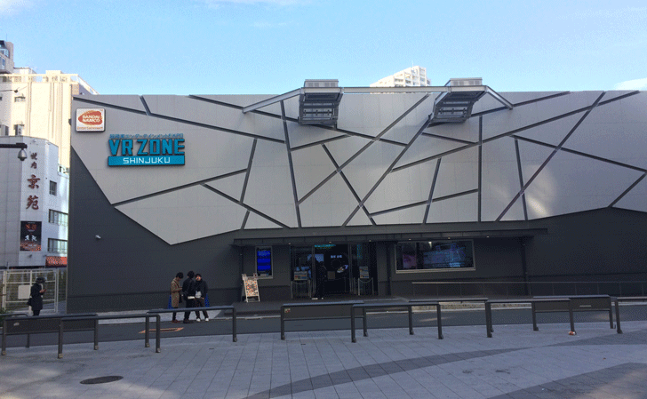 VRゾーン新宿の施設外観
