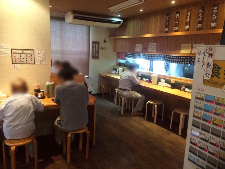 ミシュランにも載った人気店【麺屋一鶴】の店内