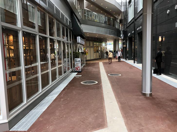 PATIO SAKURA(パティオさくら)の通路