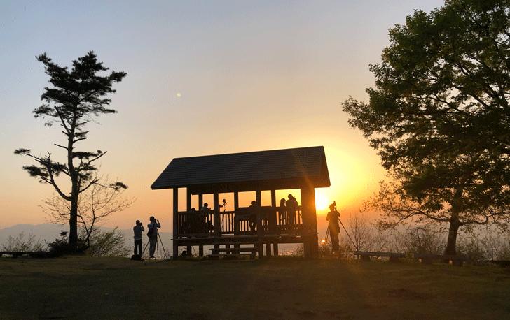 鉢伏山の展望台