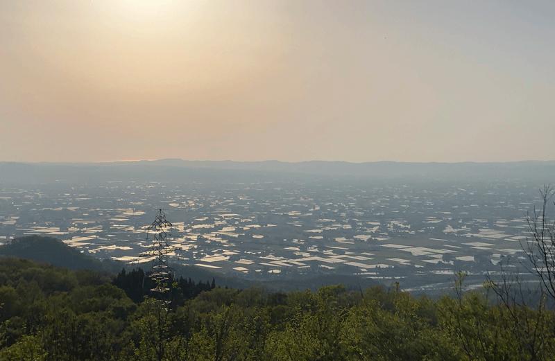 鉢伏山からの眺め