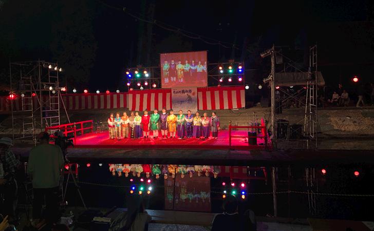 売比河鵜飼祭(めひかわうかいまつり)の万葉集朗詠