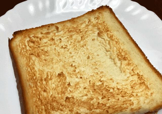 トーストした乃が美はなれ富山店の魔法の高級生食パン