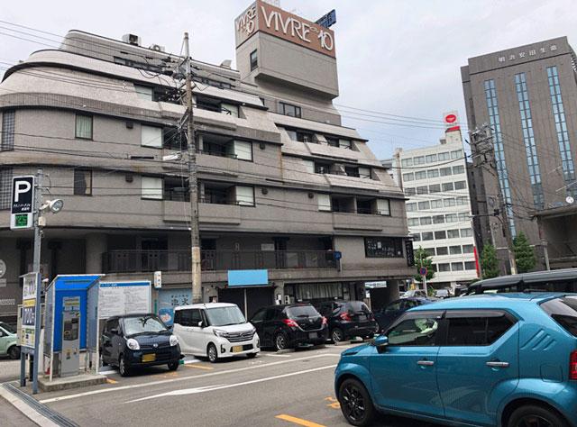 富山駅前、オールタイム60分100円のテクノパーク24 新富町