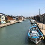 映画ロケ地の観光スポット「日本のベニス新湊内川」