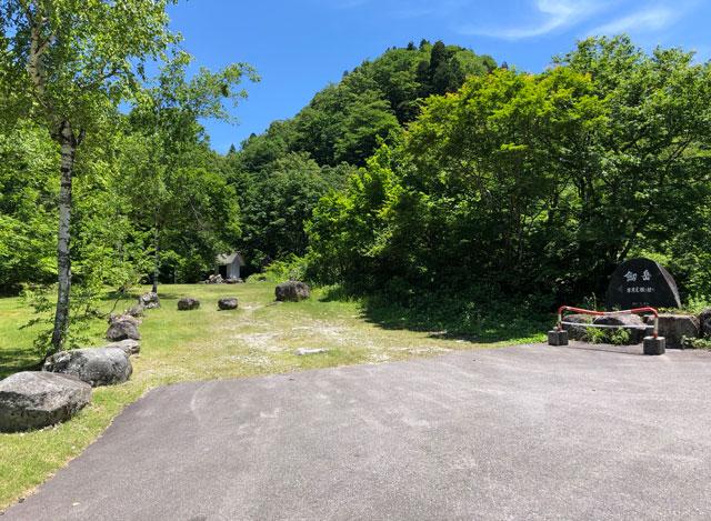 番場島、剣岳の早月尾根ルートの登山口