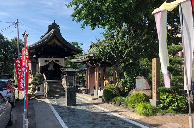 石倉町の延命地蔵尊