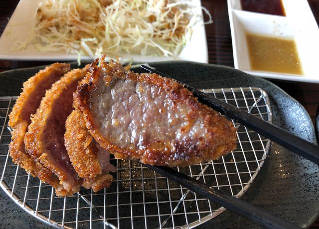 富山初!牛かつ専門店「RIKI リキ」の焼きすぎた牛カツ