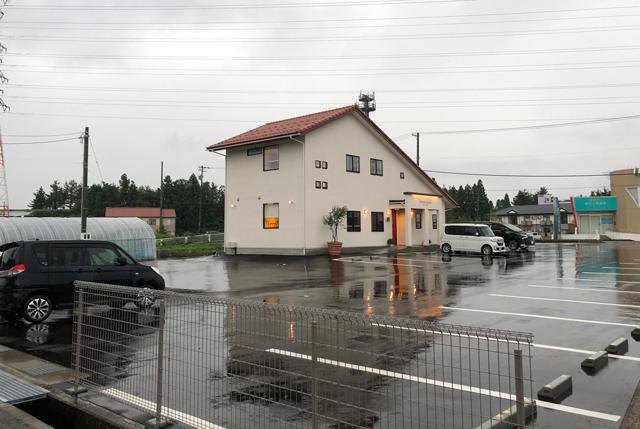 イタリア料理屋「TRATTORIA SACCHI(トラットリア サッチ)」の駐車場
