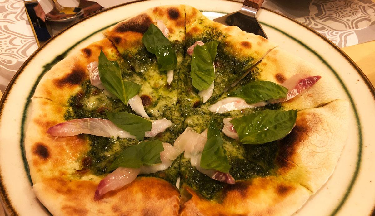 【トラットリア サッチ】イルキャンティから独立した自家製野菜のイタ飯屋のピザ