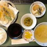 四十萬亭(しじまてい)の1000円の天ぷら定食