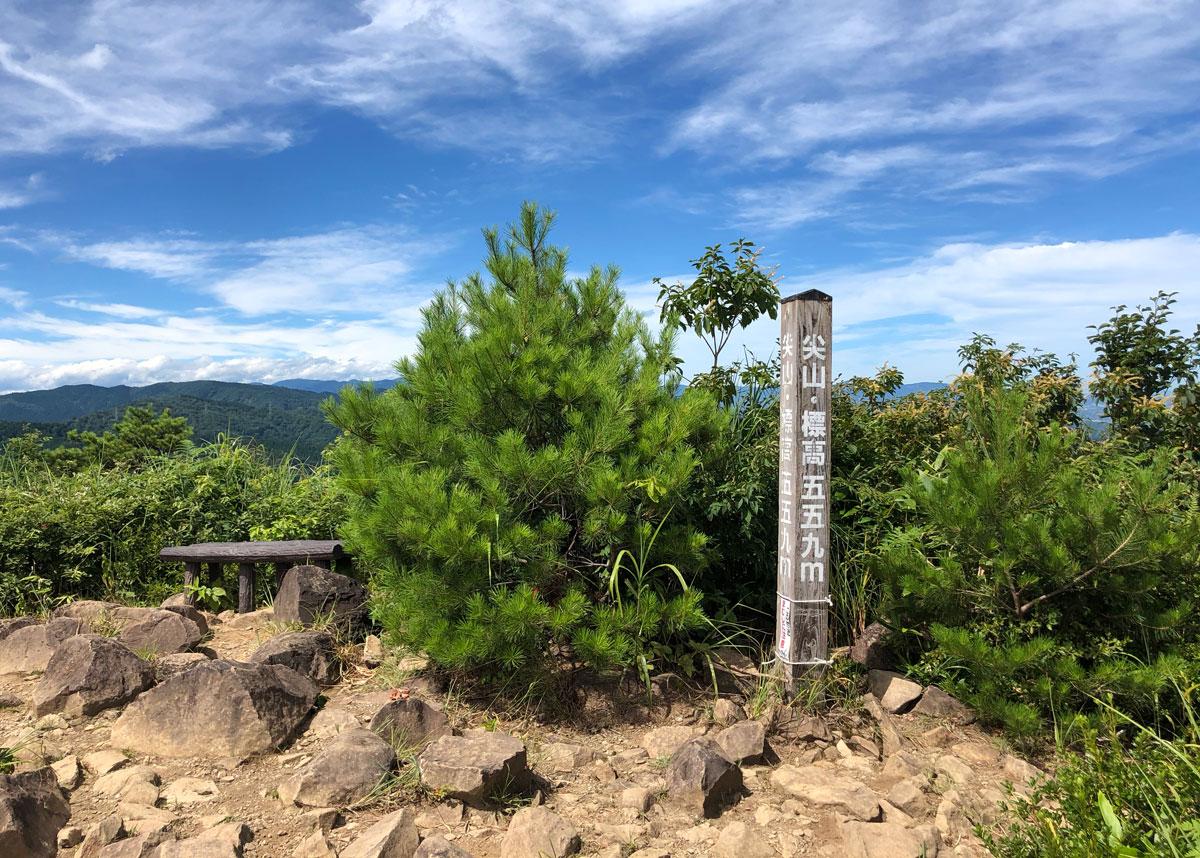 【尖山(とんがり山)登山】UFO説やピラミッド説のある富山のミステリースポット!