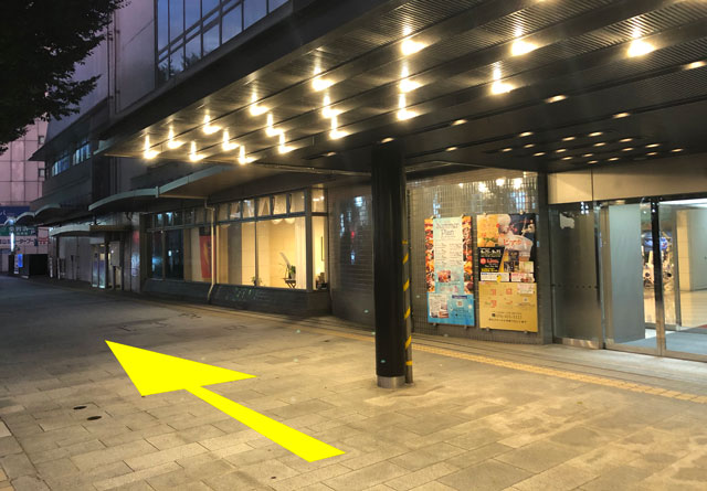 富山駅徒歩6分の格安ゲストハウス「いるかホステル」までの道のり