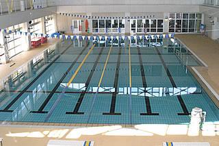 砺波市温水プールの25mプール