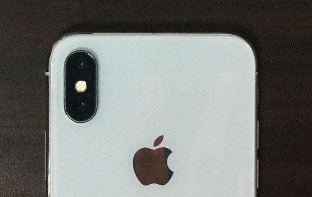 iphoneXのデュアルカメラ