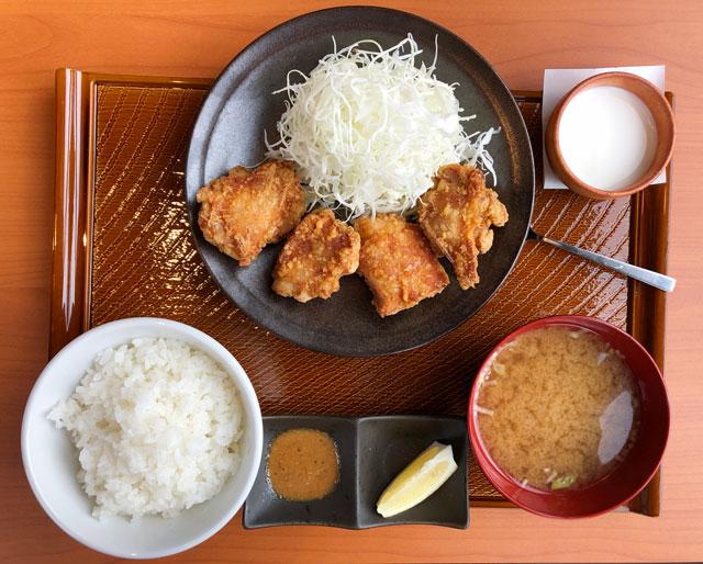 富山市布瀬の唐揚げ専門店 から好し(からよし)の定番から好し定食