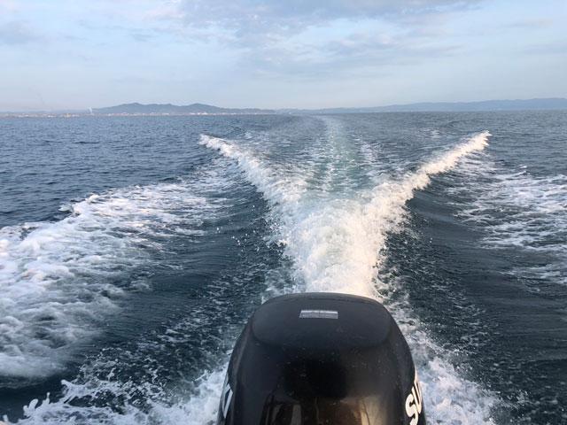 数チャーター船「強神丸」のポイント移動