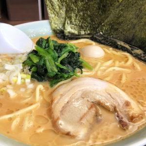 富山市秋吉にオープンした富山 魂心家(こんしんや)の豚骨味噌ラーメン