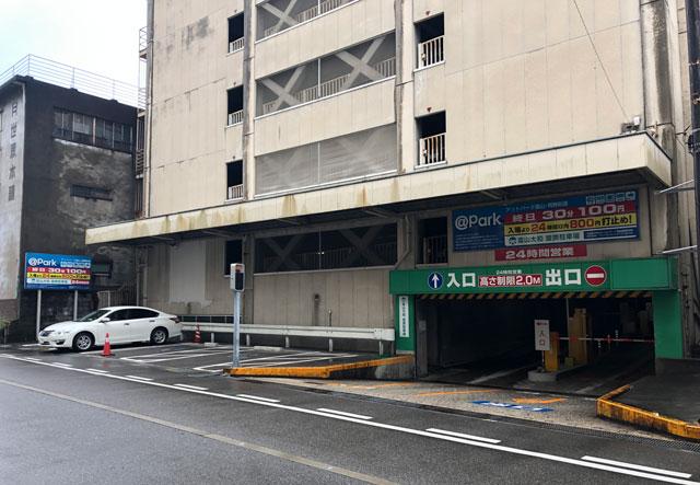富山大和の提携駐車場「@Park富山 飛騨街道」