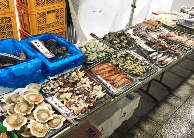 「東北復興支援 牡蠣奉行2018 富山」の食材