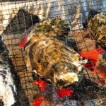 【東北支援 牡蠣奉行】富山駅前の1kg540円の焼き牡蠣