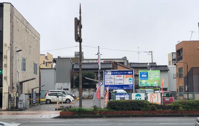 富山大和の提携駐車場「システムパーク一番町」