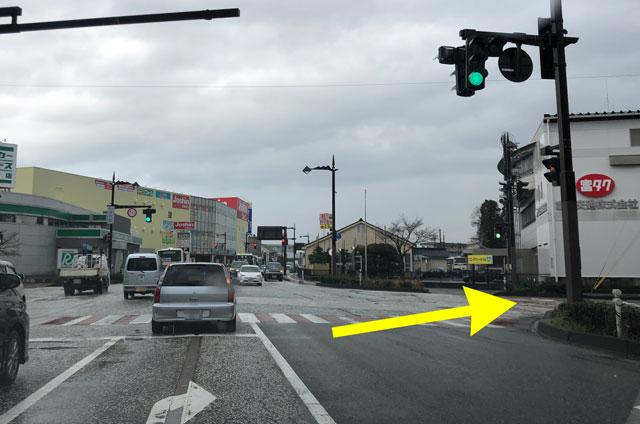 富山交通(富タク)の食堂の場所