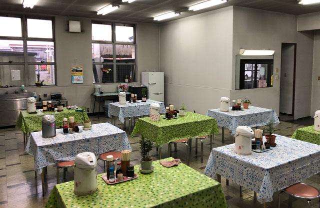 富山交通(富タク)の食堂の中の様子2