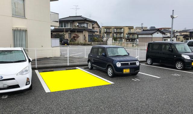 富山大学五福キャンパス目の前のパン屋さん「とやぱん」の専用駐車場