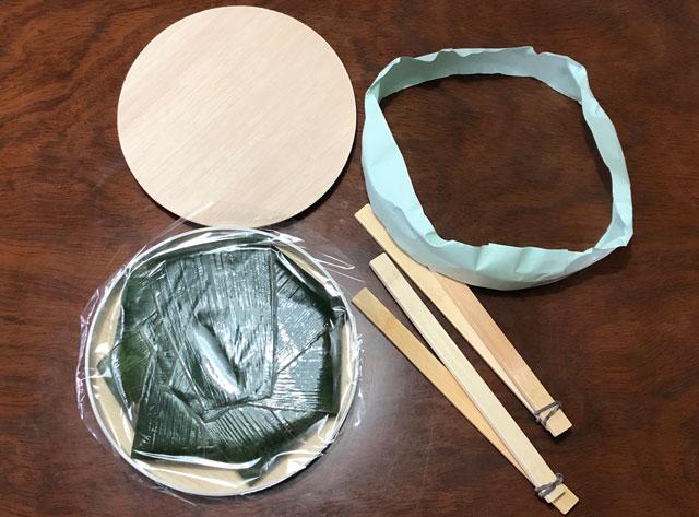 扇一(おぎいち)ます寿し本舗の鱒寿司の中身2