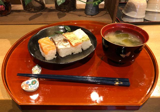 おわら風の盆で有名な越中八尾の宿泊施設「越中八尾ベースOYATSU」の朝食