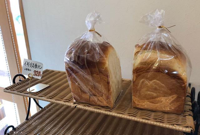 越中岩瀬ベーカリーみやの「イギリス食パン」