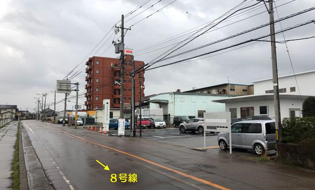富山市寺島のオシャレスーパー「黒崎屋(KUROSAKIYA)」の場所1
