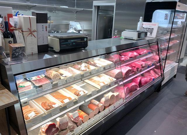 富山市寺島のオシャレスーパー「黒崎屋(KUROSAKIYA)」のメッツゲライイケダの肉
