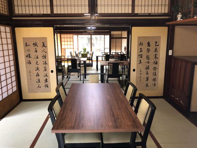 新湊内川エリアの民泊ゲストハウス「内川の家 奈呉」の1階のレンタルスペース1
