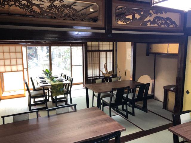 新湊内川エリアの民泊ゲストハウス「内川の家 奈呉」の1階のレンタルスペース2
