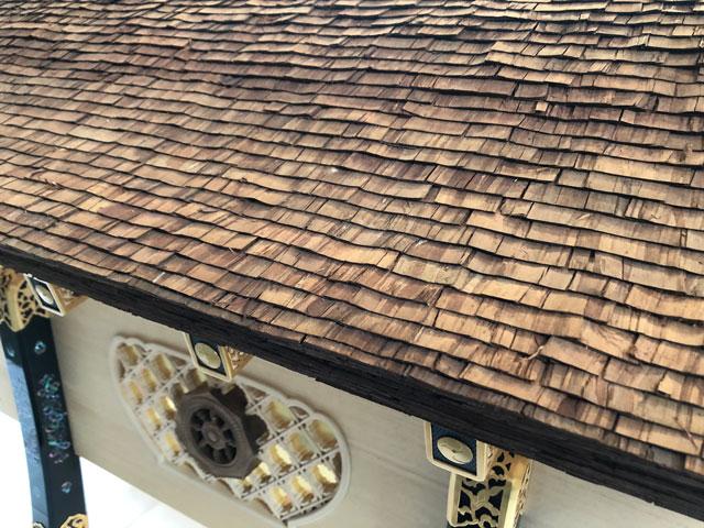 高野山奥之院生身供唐櫃(しょうじんぐからびつ)の屋根