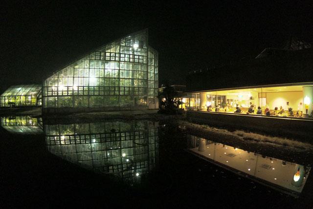 富山県植物園の夜間延長営業でも開いてる喫茶店「ココナッツアイランド」