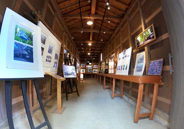 国登録有形文化財、富山県民会館分館「豪農の館 内山邸」 の写真展