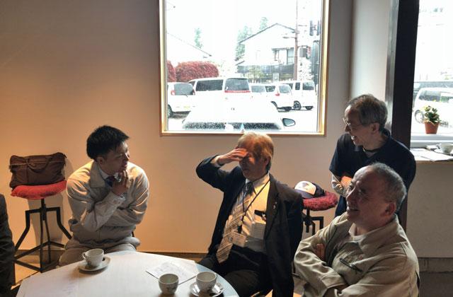 「第3回空き家活用作戦会議@砺波」で商工会議所の方の話