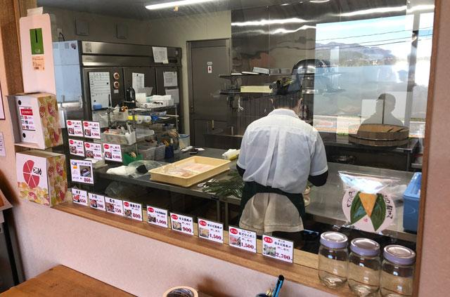 楽天寿司ランキング週間1位【鱒寿司 ヒロ助】の作業風景