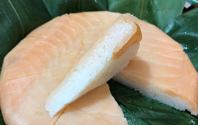 楽天市場、寿司ランキング週間1位の鱒寿司ヒロ助のトロ特上鱒寿司の鱒の厚み