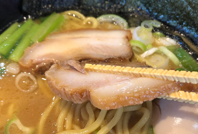 「麺屋 達(めんやたつ) 古沢店」のチャーシュー