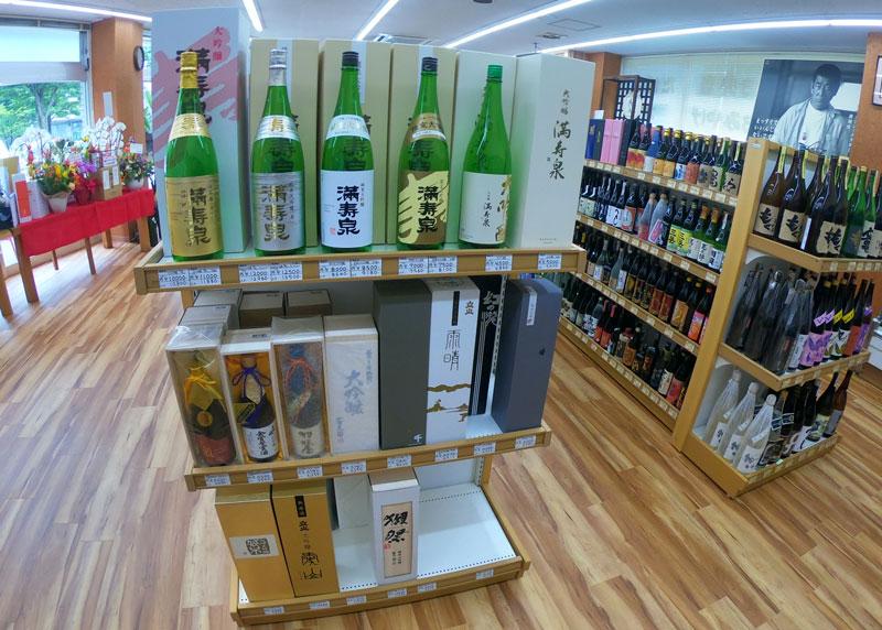 富山駅北の酒屋「リカーポケットみずはた」の日本酒ラインナップ4