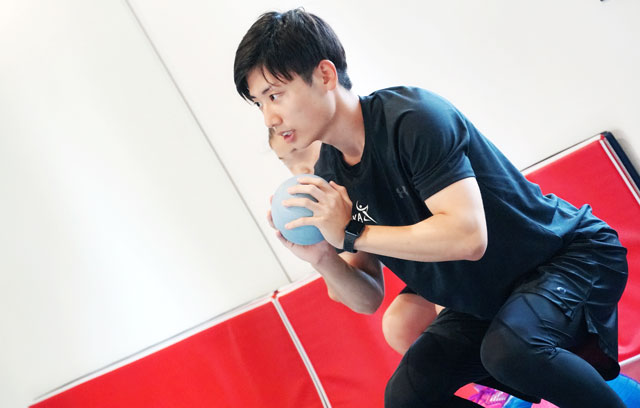 ゆめたかトレーニングジムのスタッフ(堀田流生 ホリタリュウキ)