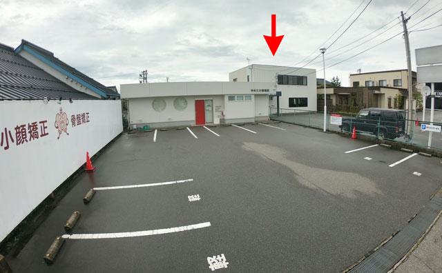 富山市二口町の接骨院プロデュースのセミパーソナルジム「ゆめたかトレーニングジム」の建物